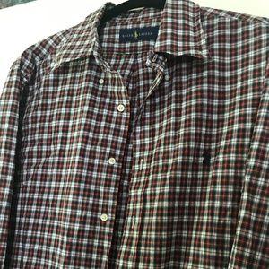 Ralph Lauren Men's Dress Shirt- 16 1/2  34/35